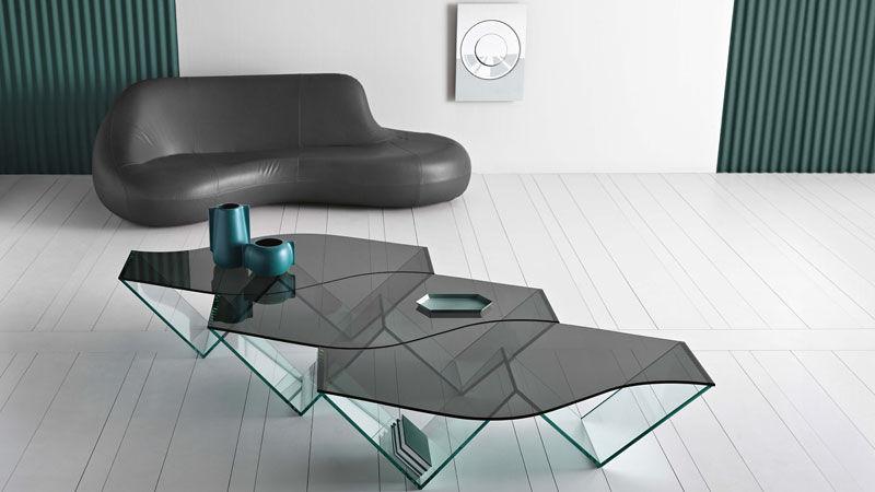 Composizione tavoli da salotto con postariviste Pulse
