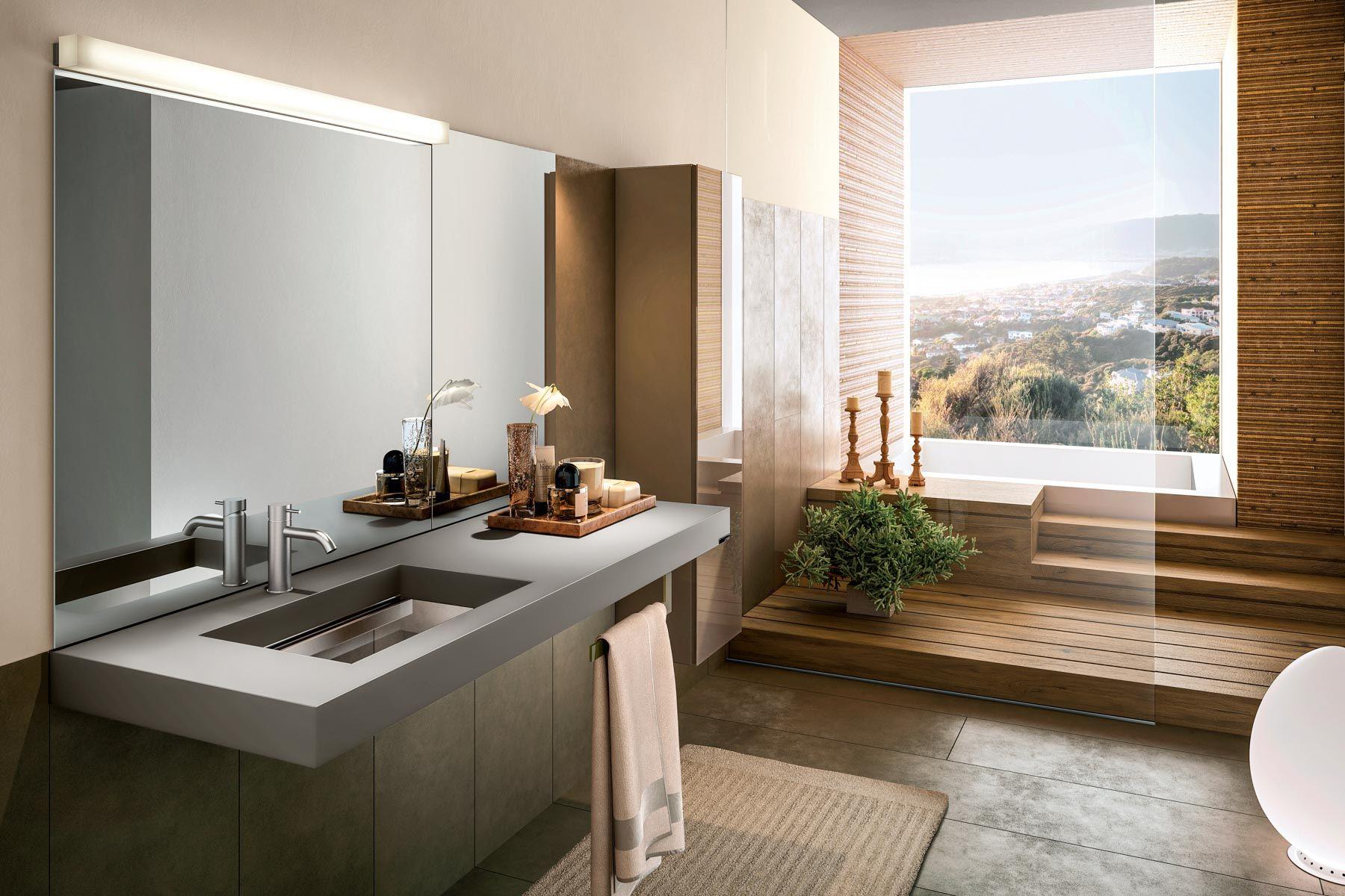 Badezimmer - Waschtisch Depth