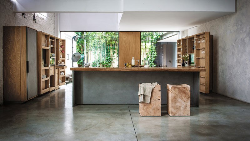 LOCATION BRESCIA |  LA CUCINA  design  Matteo Thun - NAPA BIG design  Terry Dwan - CAMBUSA COOK&WINE design  Giuliano Cappelletti
