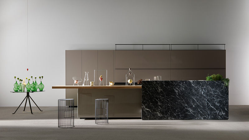 Artematica Noce Tattile kitchen