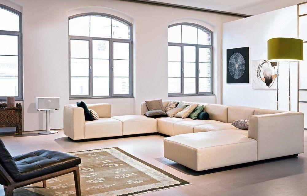 walter knoll halbinsel sofas sofakombination living. Black Bedroom Furniture Sets. Home Design Ideas