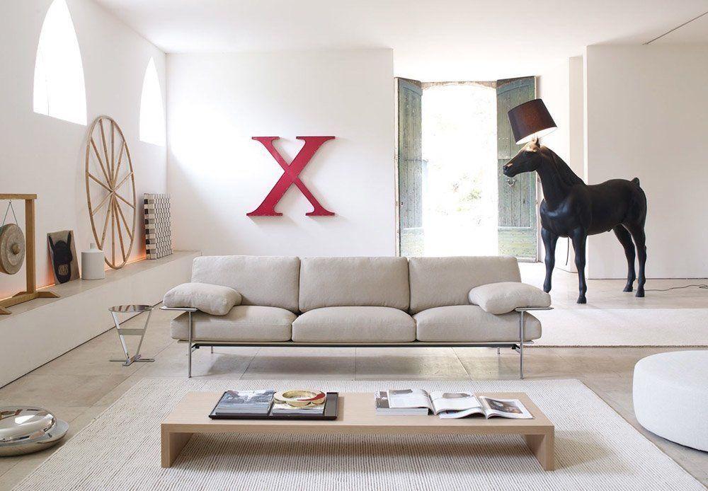 Divano diesis da b b italia designbest for Poltrone e sofa biella
