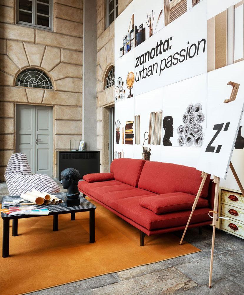 Zanotta drei sitzer sofas sofa milano designbest for Sofa outlet hannover