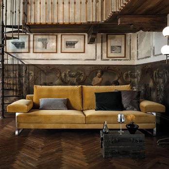 Divani tre posti arketipo divani e poltrone catalogo for Poltrone e sofa biella