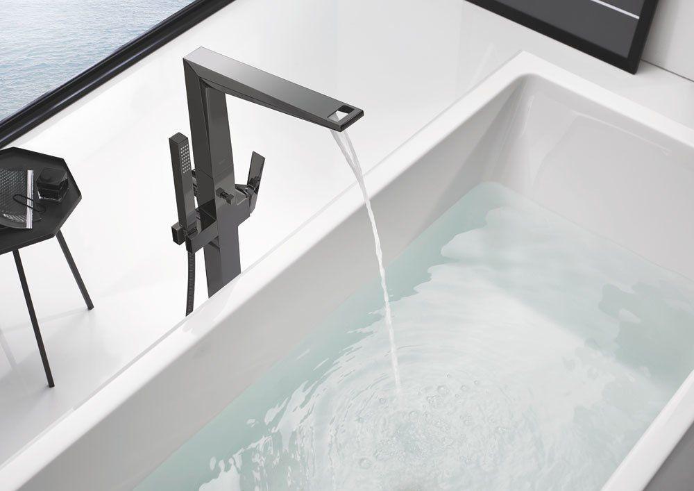grohe armaturen f r dusche und wanne badewannenarmatur allure brilliant designbest. Black Bedroom Furniture Sets. Home Design Ideas
