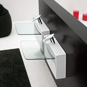 Washbasin Crystall Wall