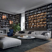 Bookcase Wall System