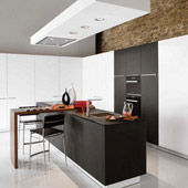 Kitchen Home Office Black & White