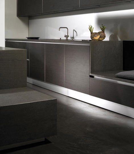 Eggersmann k chenm bel k che modern basalt aluminium designbest - Kuchenmobel modern ...