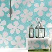 Mosaico Glass Flowers