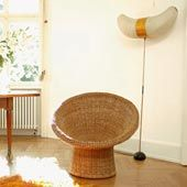 Small Armchair Rattan E10