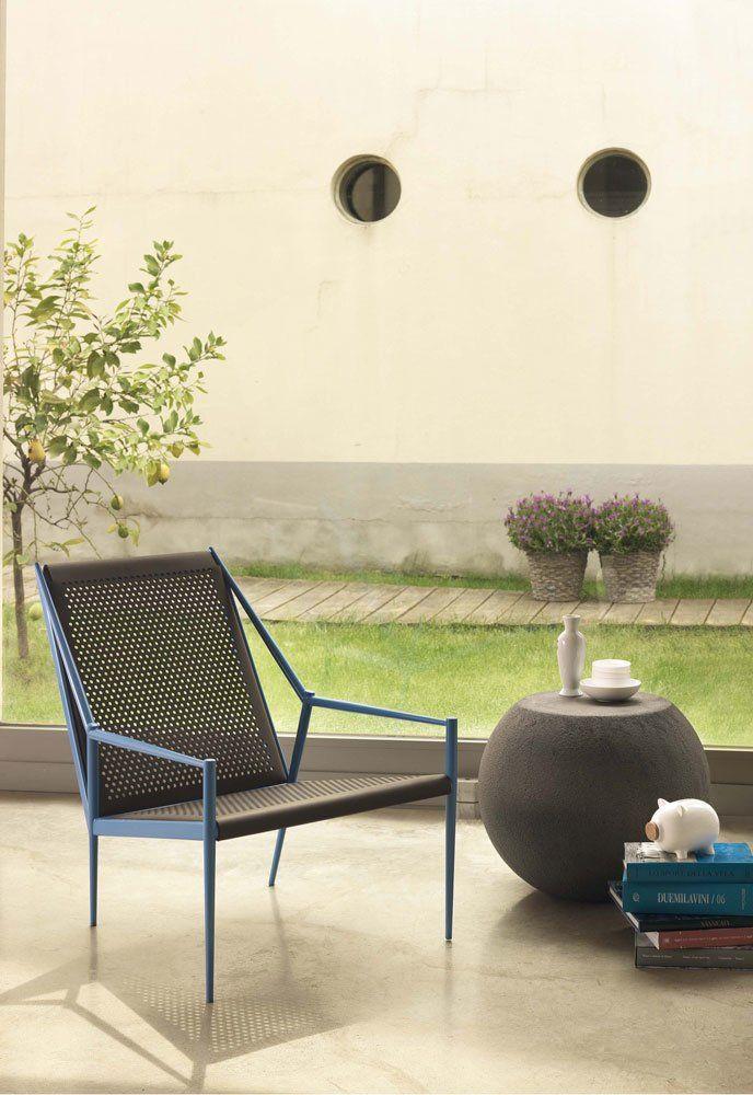 cappellini kleine sessel kleiner sessel acciaio lounge designbest. Black Bedroom Furniture Sets. Home Design Ideas