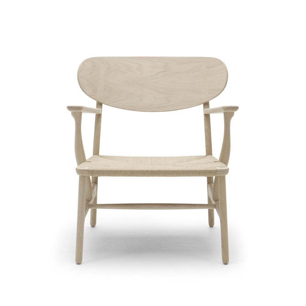 carl hansen s n kleine sessel kleiner sessel ch22 designbest. Black Bedroom Furniture Sets. Home Design Ideas