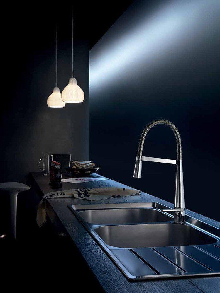 nobili armaturen f r die k che mischbatterie likid designbest. Black Bedroom Furniture Sets. Home Design Ideas