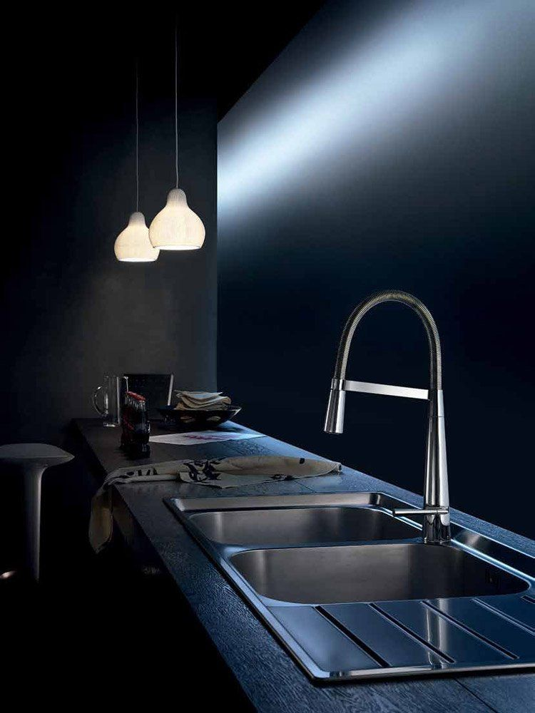 nobili armaturen f r die k che mischbatterie likid. Black Bedroom Furniture Sets. Home Design Ideas