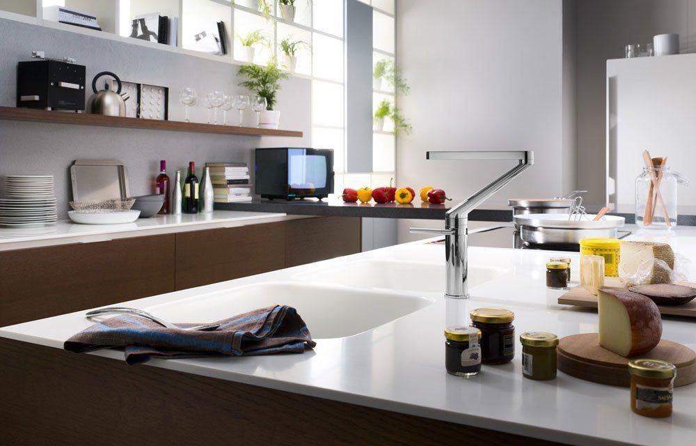 nobili armaturen f r die k che mischbatterie zoom designbest. Black Bedroom Furniture Sets. Home Design Ideas
