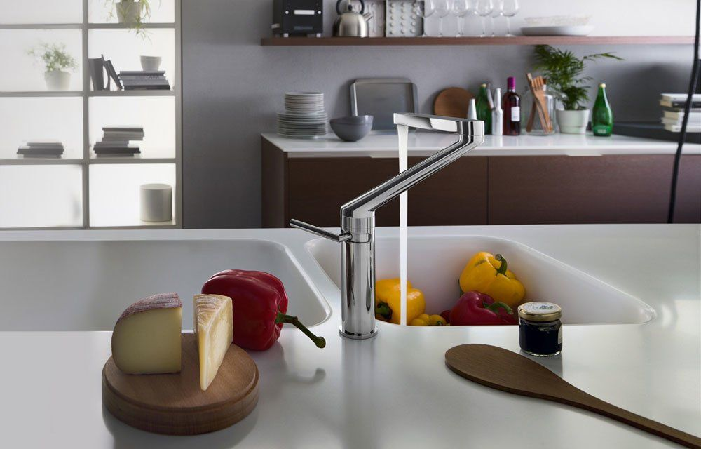Kitchen taps mixer tap zoom by nobili for Nobili store
