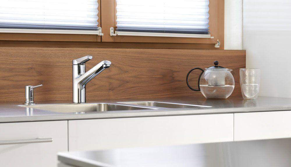 kwc armaturen f r die k che mischbatterie kwc adrena designbest. Black Bedroom Furniture Sets. Home Design Ideas