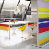 Bookcase Stripes
