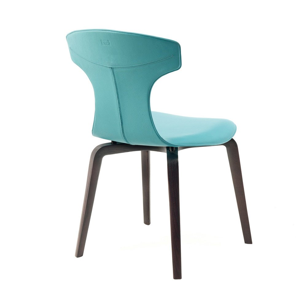 Sedia montera da poltrona frau designbest for Sedie design vicenza