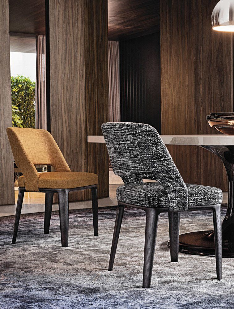 Chairs chair owens by minotti for Sedie design north america
