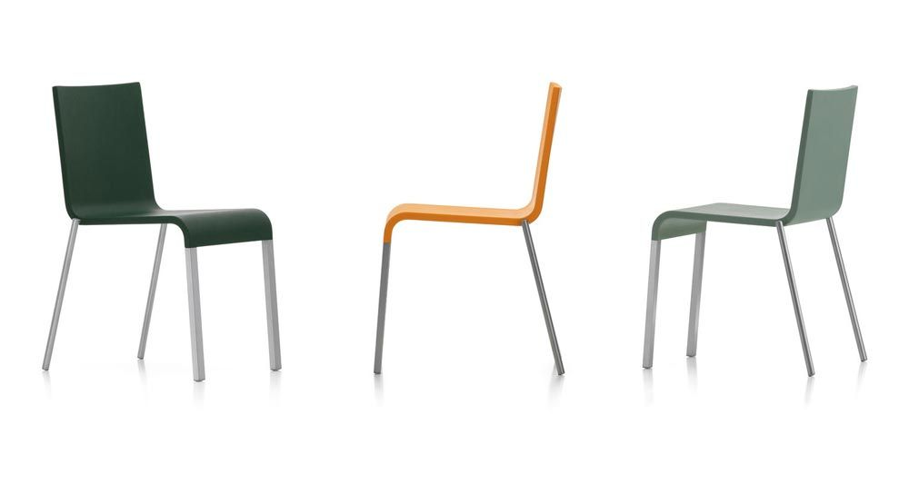 Catalogue chaise 03 vitra designbest for Chaise 03 van severen