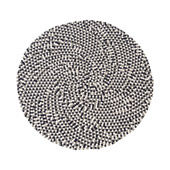 Rug Confetti black / white