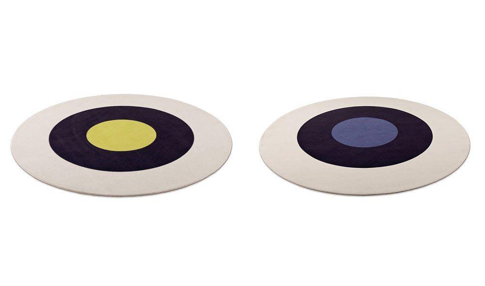 object carpet teppiche teppich dots stripes designbest. Black Bedroom Furniture Sets. Home Design Ideas