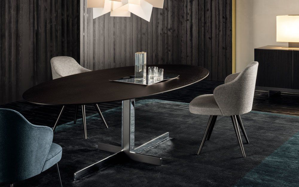 minotti tische tisch catlin designbest. Black Bedroom Furniture Sets. Home Design Ideas