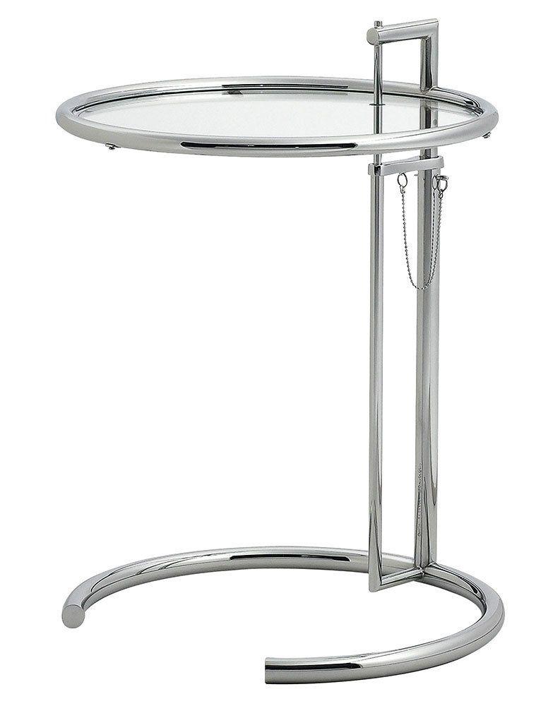 classicon beistelltische beistelltisch adjustable e 1027 designbest. Black Bedroom Furniture Sets. Home Design Ideas