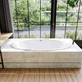 Whirlpool Bathtub Ellipso Duo Oval