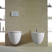 WC und Bidet Bowl+