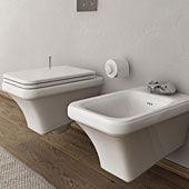 WC und Bidet Tosca