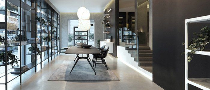 Rimadesio showroom ufficiale roma mobili e arredamento for Showroom arredamento roma