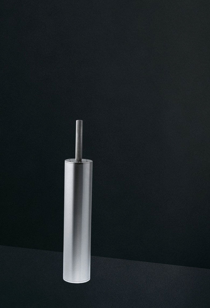 Toilet Brush Holder Minimal Design Giulio Gianturco 1999
