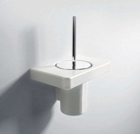 Toilet Brush Holder Piano