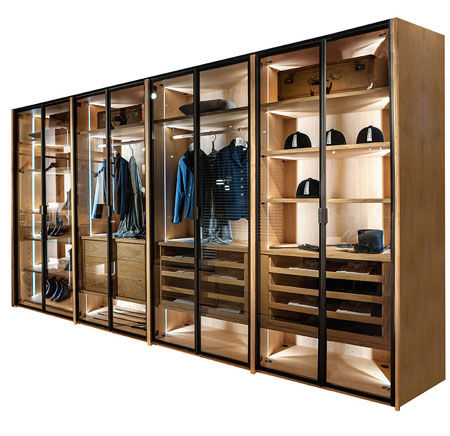 Walk-in closet Avant by Riva 1920