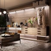 Begehbarer Kleiderschrank Atrium