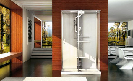 Shower Cubicle Mynima 140 Wall