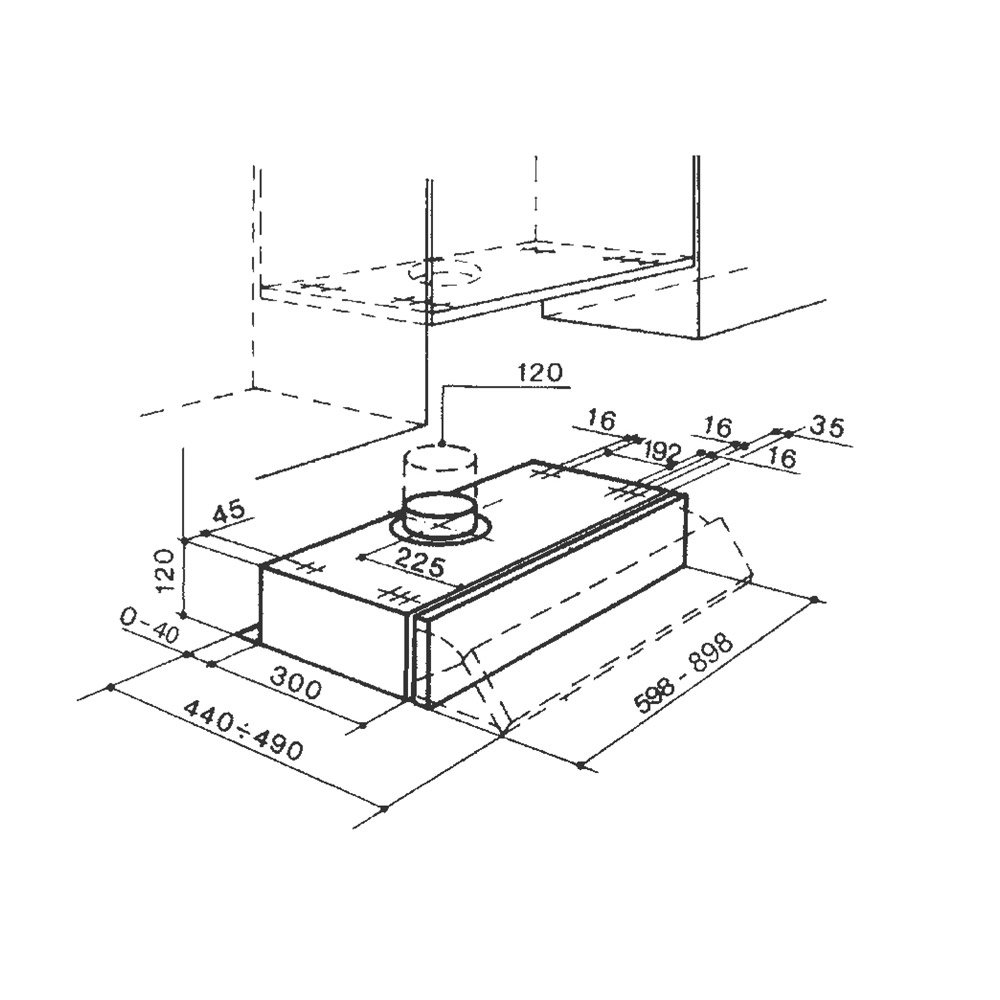 Cappa 2152 avanguardia arredamenti for Arredo inox crotone