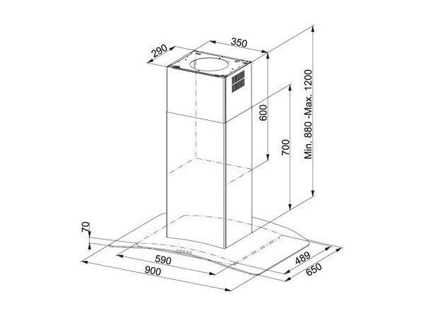 Cappa Glass Soft FGC 915 I XS