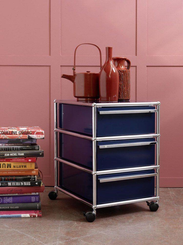usm schubladenschr nke schubladenschrank usm haller. Black Bedroom Furniture Sets. Home Design Ideas
