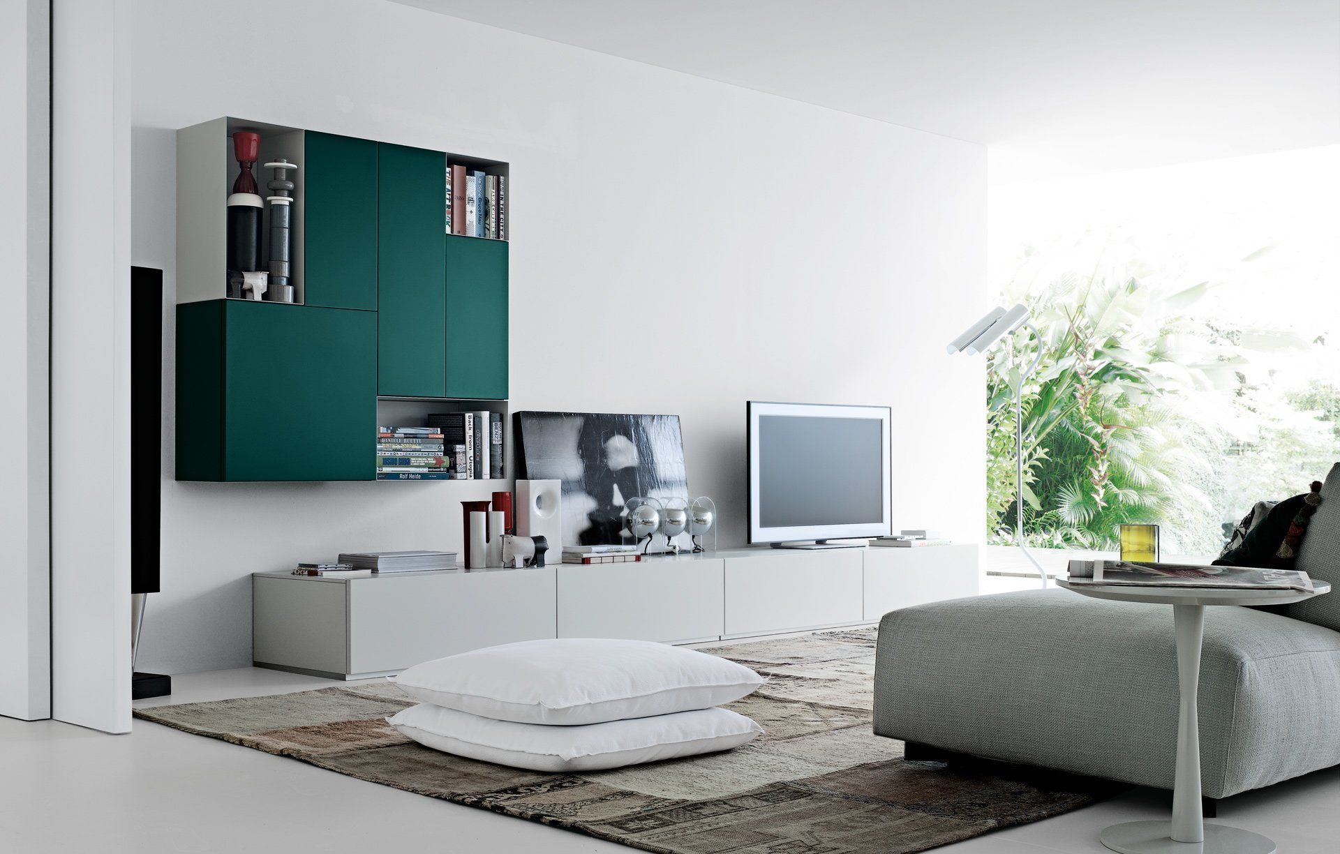 Living Room Sets: Composition Sintesi [A] by Poliform