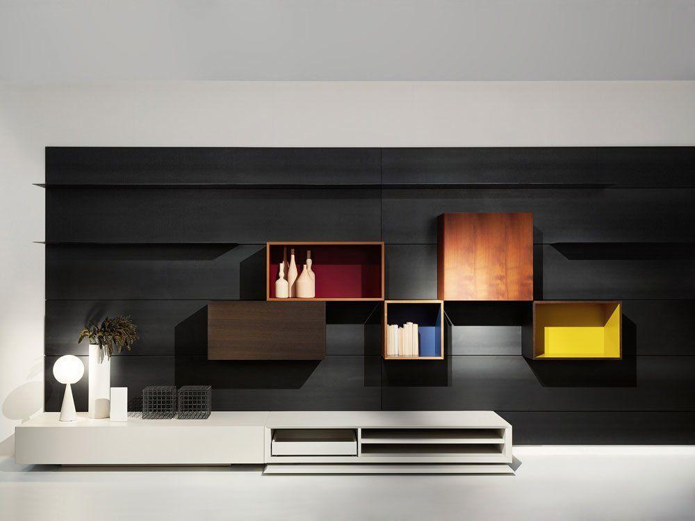 porro regalsysteme regalsystem modern b designbest. Black Bedroom Furniture Sets. Home Design Ideas
