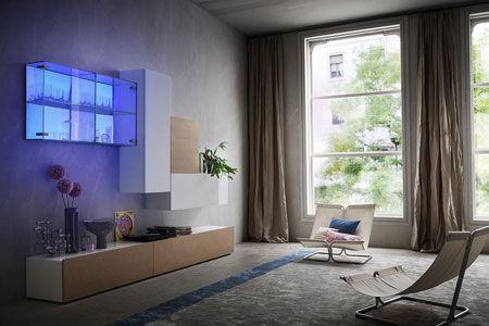Composizioni soggiorno napol arredamenti soggiorno for Composizioni soggiorno design