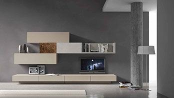 Emejing Composizioni Soggiorno Contemporary - Design and Ideas ...