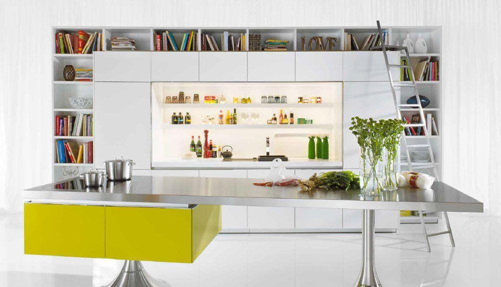 Kitchen library minimal design philippe starck