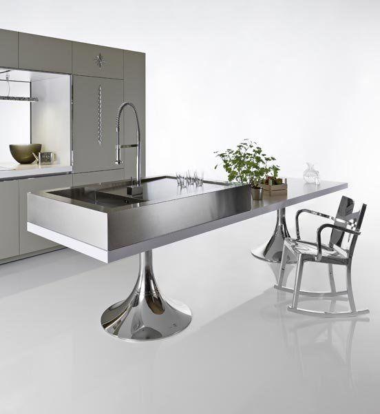 warendorf freistehende k chen k che duality minimal. Black Bedroom Furniture Sets. Home Design Ideas
