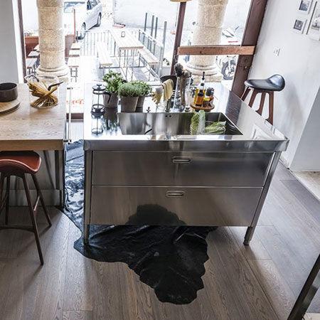 Cucine free standing alpes inox cucine catalogo designbest - Cucina freestanding ...