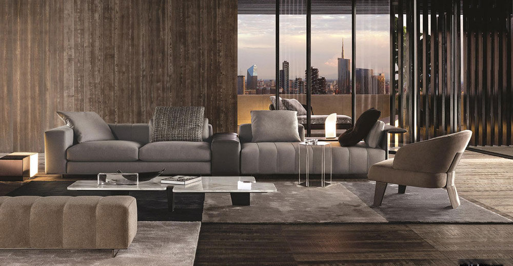 Corner Sofas Sofa Freeman By Minotti